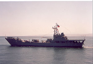 Barge LST 95 Chacabuco (5th)