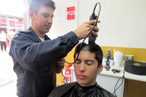 Corte de pelo para el servicio militar